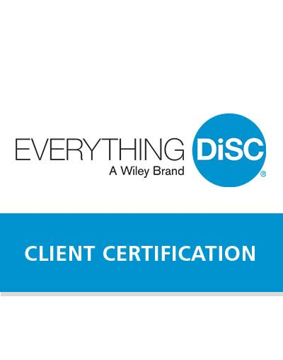 disc certification everything course person workplace